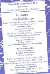 Kaléidoscope 28 septembre 1991