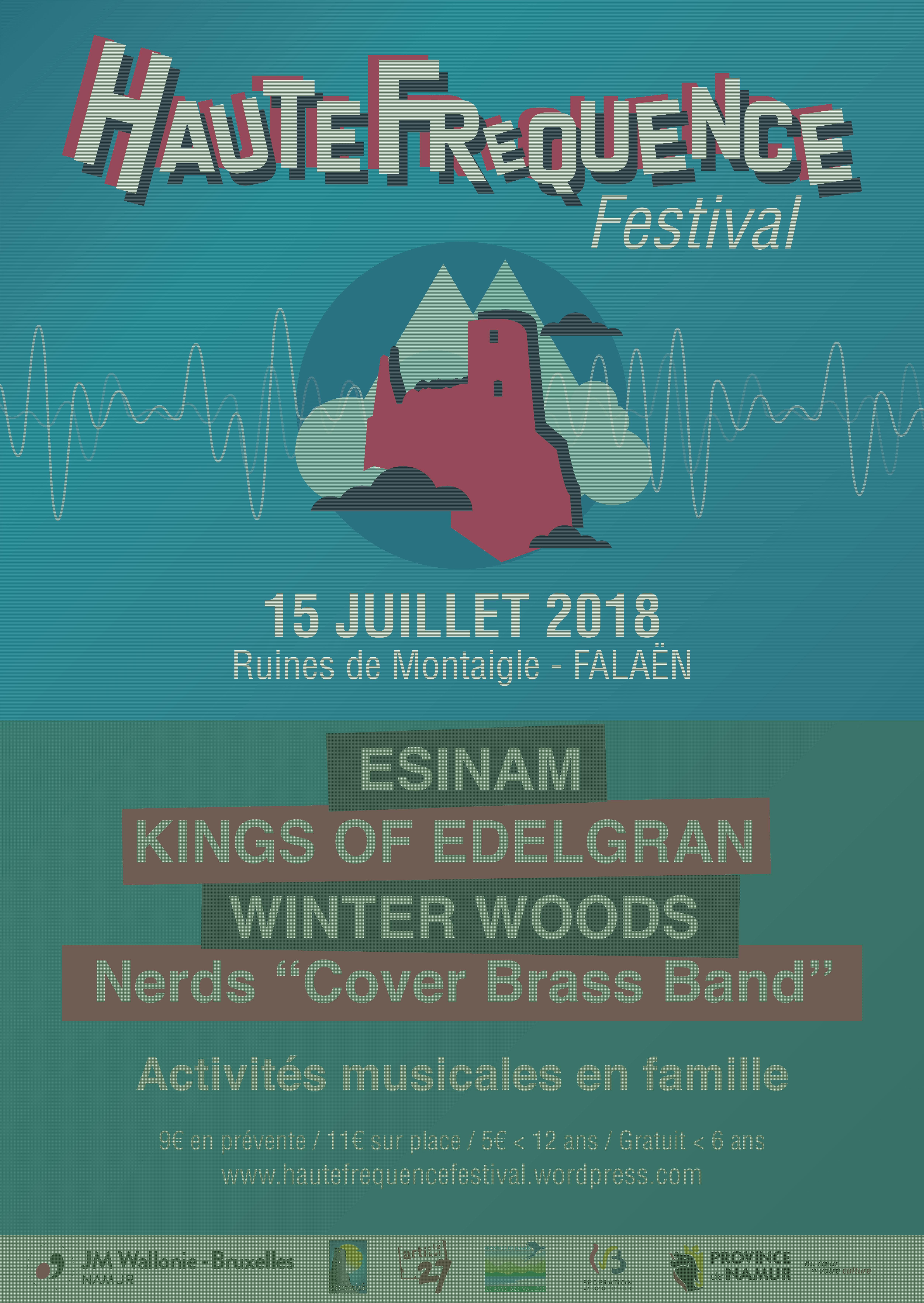 Affiche-Haute Fréquence 2018